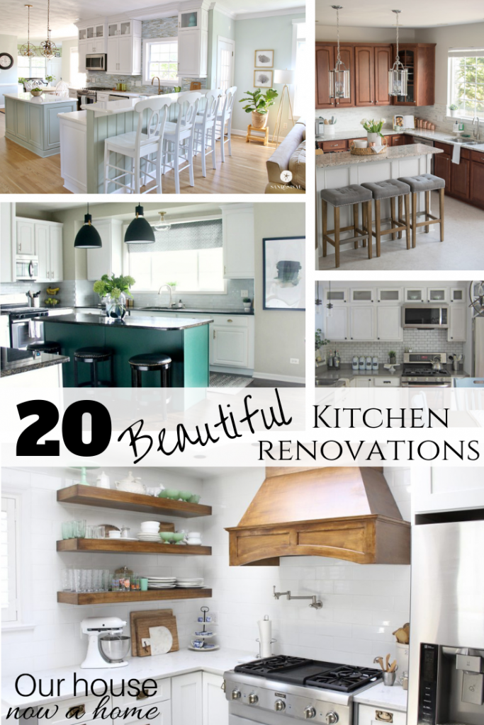 20 beautiful kitchen renovations from your favorite home decor and DIY bloggers