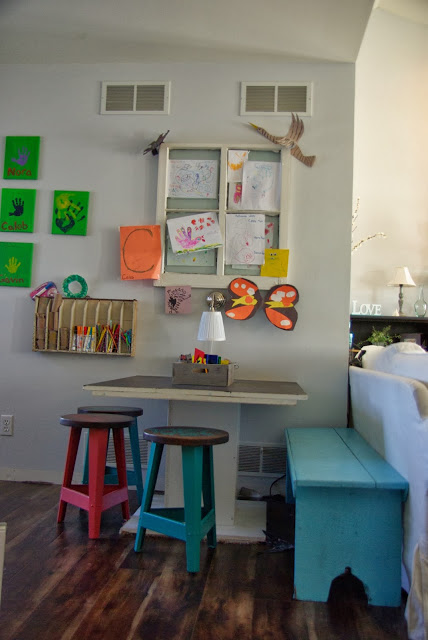 Kids Art Table
