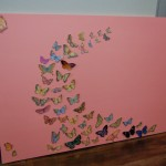 my afternoon project reveal, daughter's bedroom canvas
