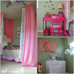 curtains for daughter's bed