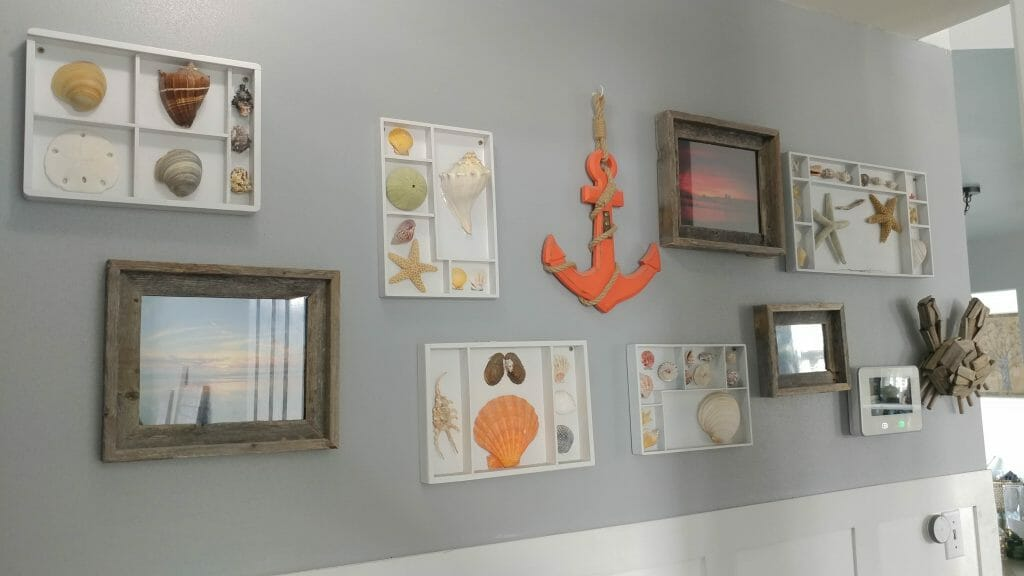 how to personalize a gallery wall
