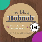 The blog Hobnob link party