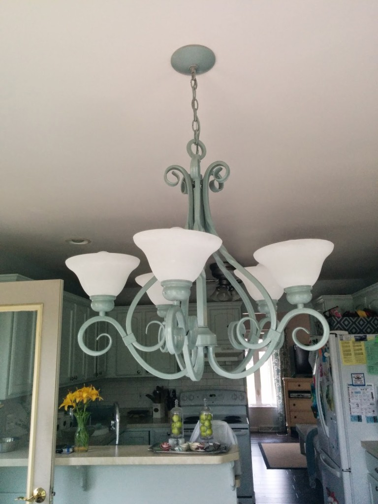 Beautiful chandelier redo our house now a home i now have one light left in my home to redo the laundry room i am biding my time finding the one again and again i have no idea on what i aloadofball Image collections