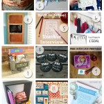 Back to school Bloghop, shadow box organizer