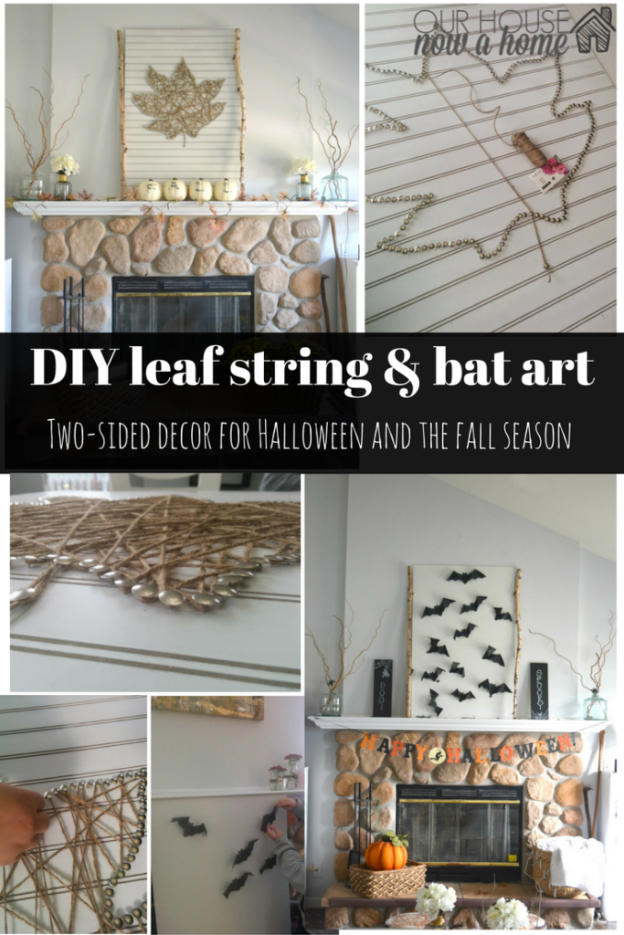 diy-leaf-string-bat-art
