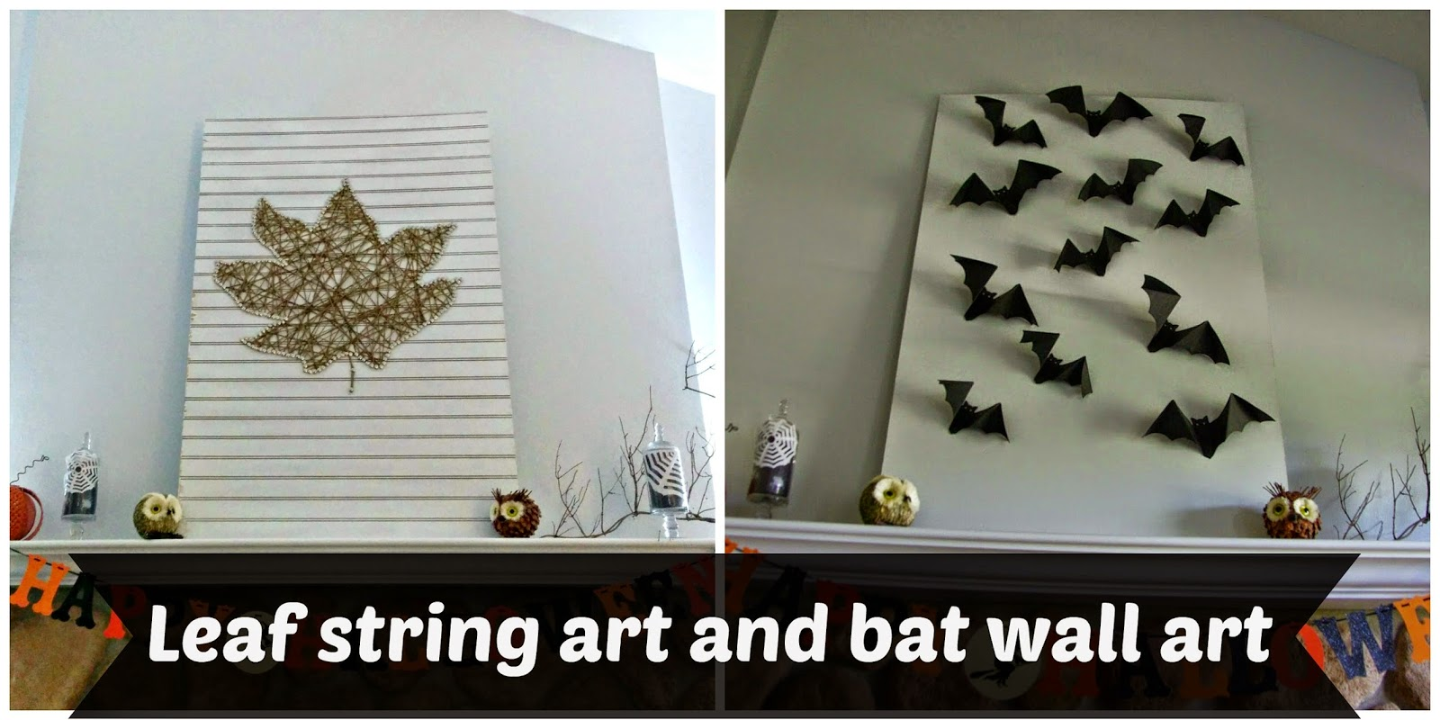 leaf and bats picture