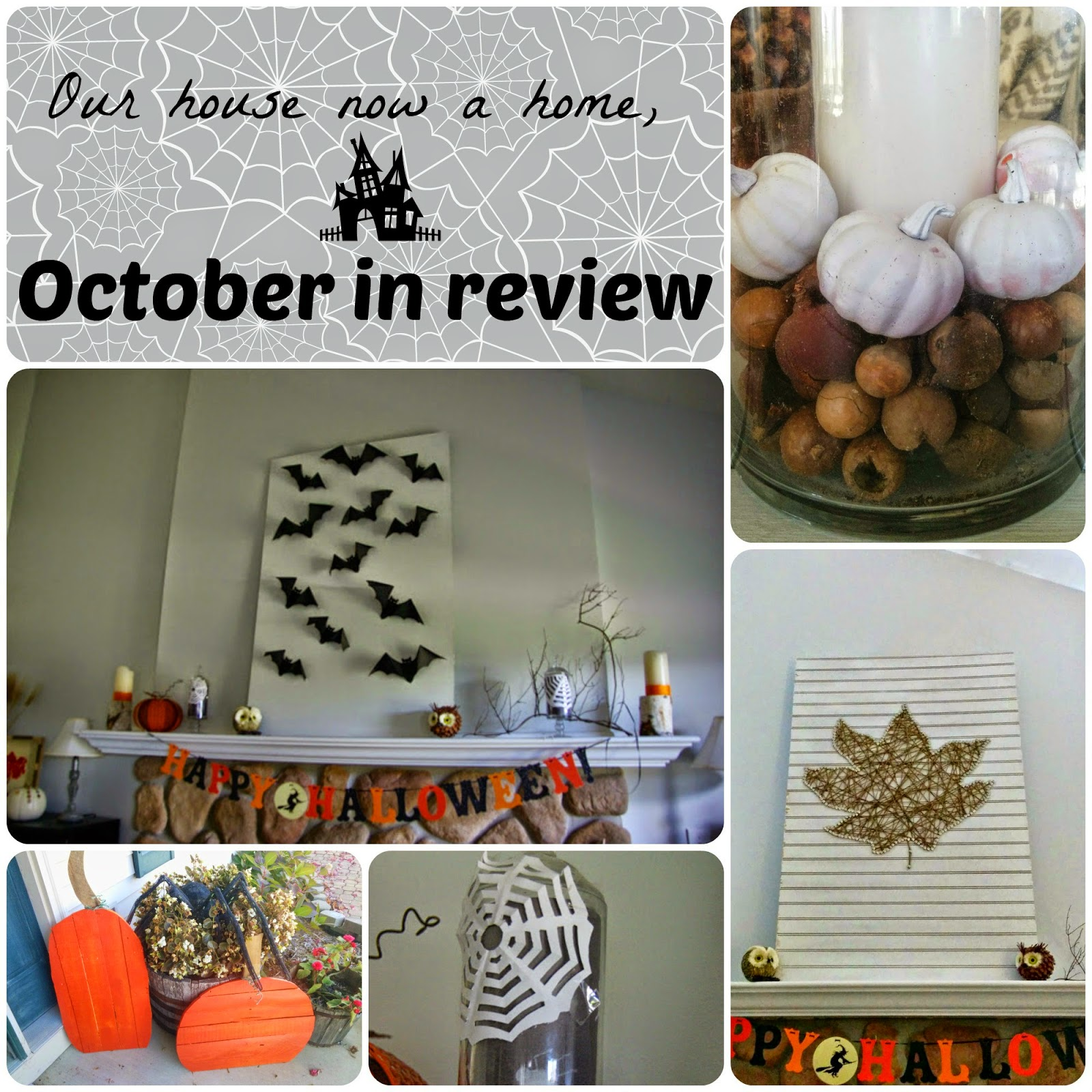 What I was up to, October in review