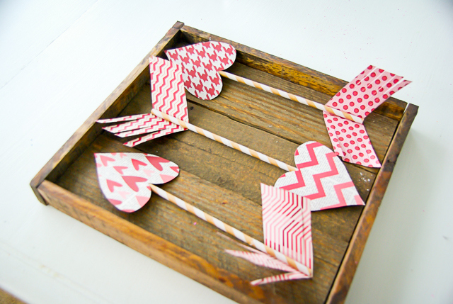 Valentines days arrows, Fancy Shanty contributing article