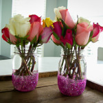 Valentines day mason jars, Fancy Shanty guest post