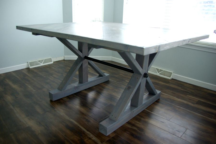 Farmhouse table, Homedit contributing article