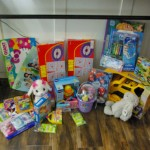 Birthday party toy donation