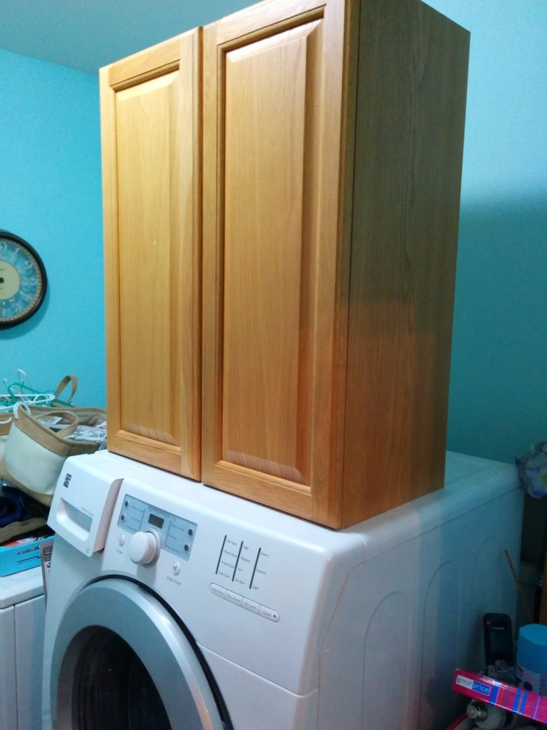 I Have Spoken About The Laundry Room Overhaul We Are Doing Some Re Configuring Of The Space Taking Down One Cabinet In A Nook For A Purpose I Will Reveal