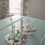 Frozen party table decor