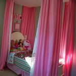 From the archives, curtains for daughters bed