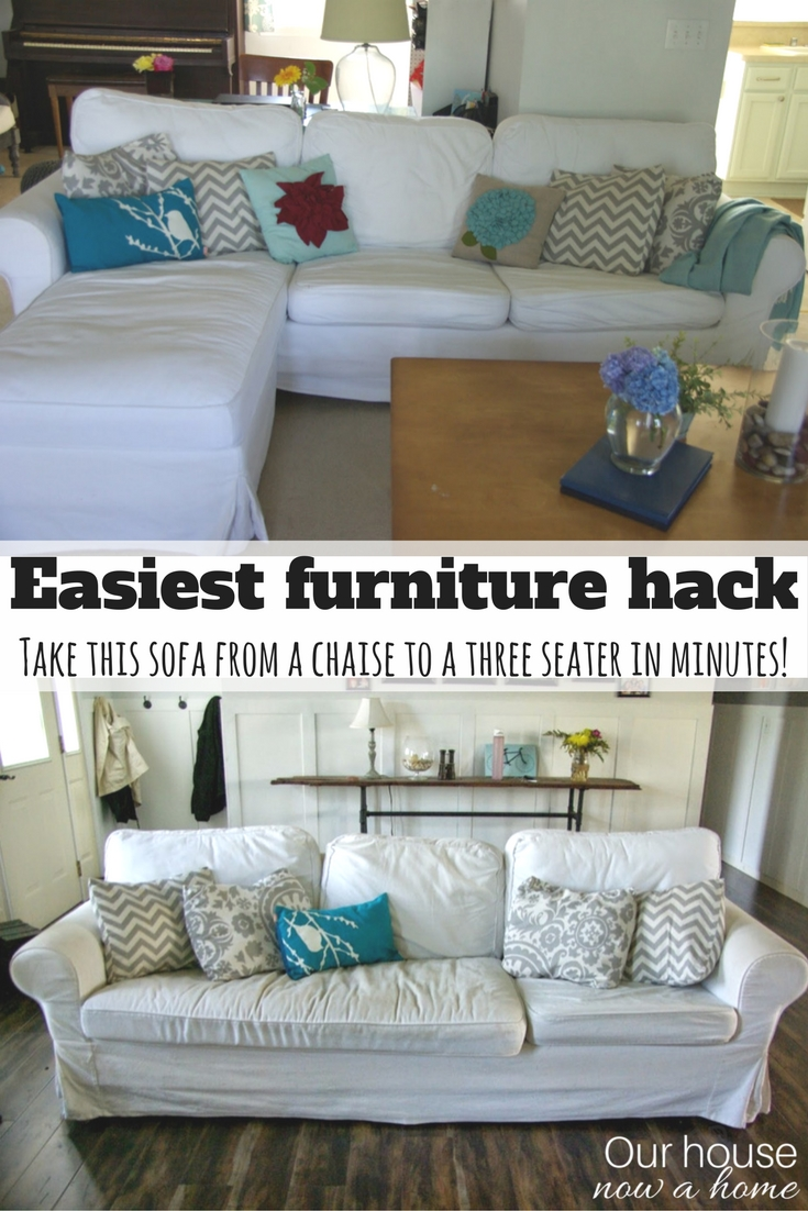 Guyu0027s, This Is Big. Today I Am Sharing A Crazy Ikea Hack. It Seems Like  Everyone Has This Ikea Ektorp Sofa, I Mean Everyone. All Of The Cool Kids  Are Owning ...