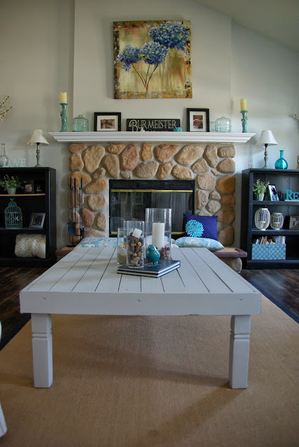 From the archives, coffee table redo
