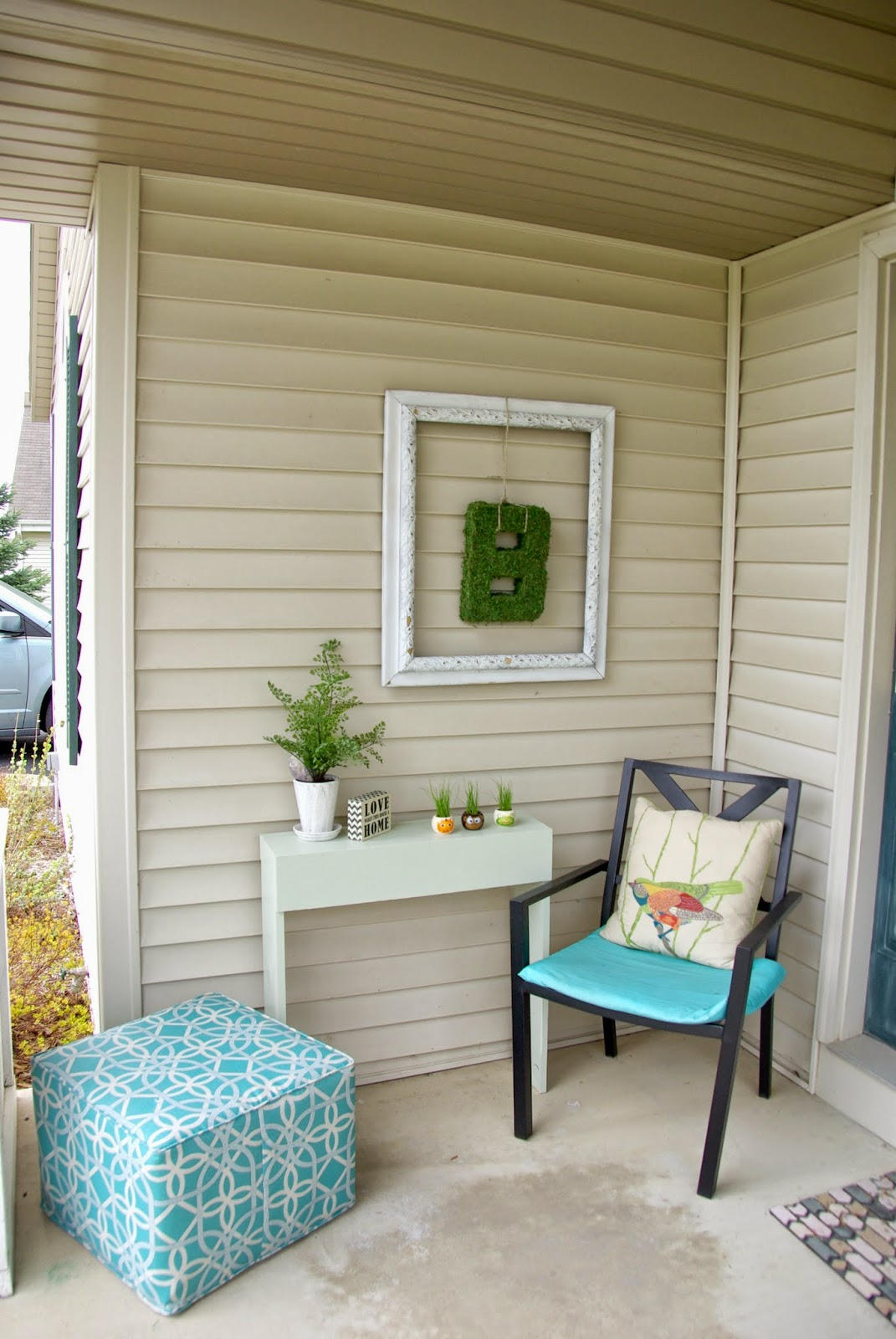 Front Porch Decorating Ideas With The Perfect Adirondack Chairs Our House Now A Home: Revamping The Front Porch • Our House Now A Home