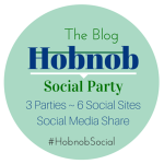 Hobnob Twitter, Instagram and  bloglovin party