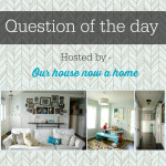 Question of the day- Wednesday