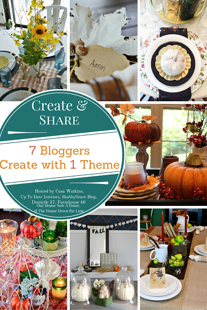 Create & Share, Fall tablescape