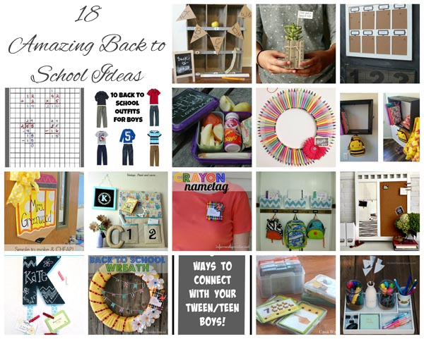 18 Amazing back to school ideas