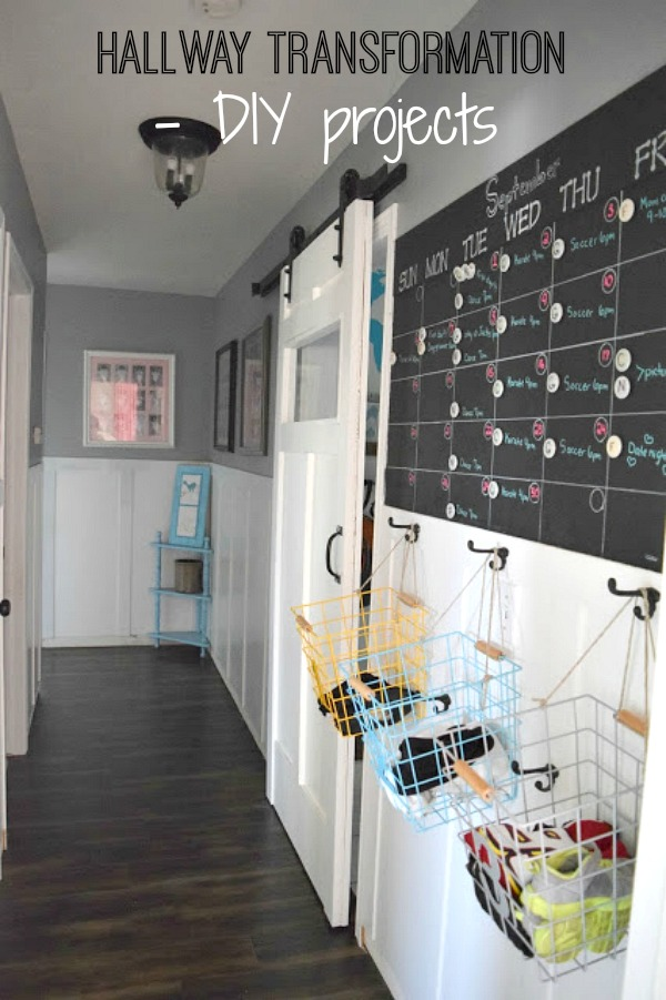 diy projects in hallway
