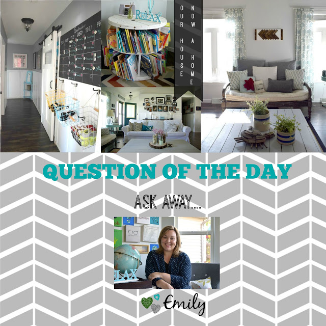 Question of the Day- Friday, let's talk about finding time to blog