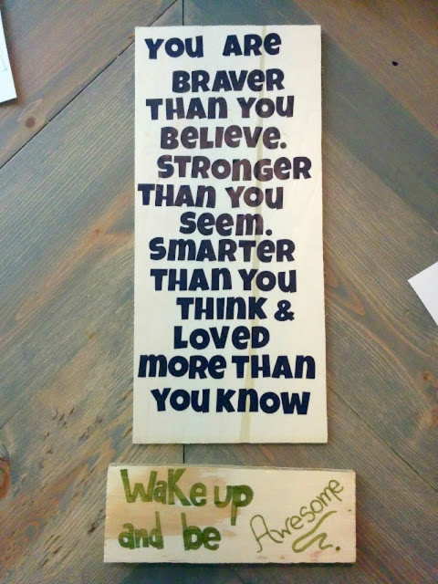 DIY-wall-art-woord-quotes • Our House Now a Home