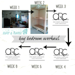 One Room Challenge, week 2- let's get this party started!
