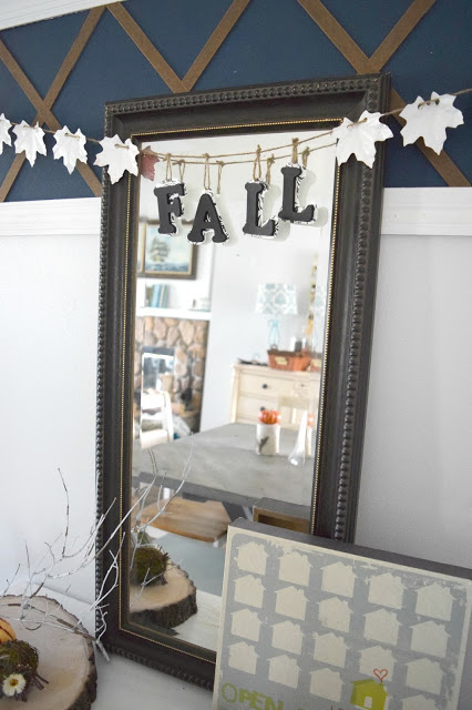 simple fall garland