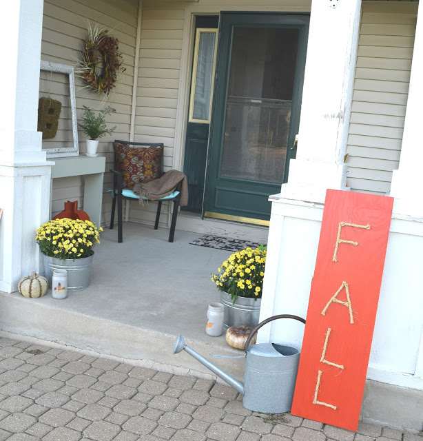 Fall 2015 Front Porch, & About A Boy Who Turns 6! • Our