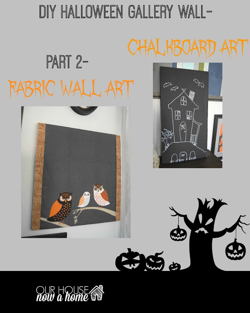 DIY Halloween gallery wall – part 2