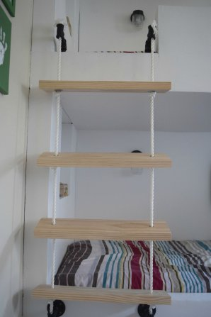 Diy Rope Ladder For Bunk Bed Our House Now A Home