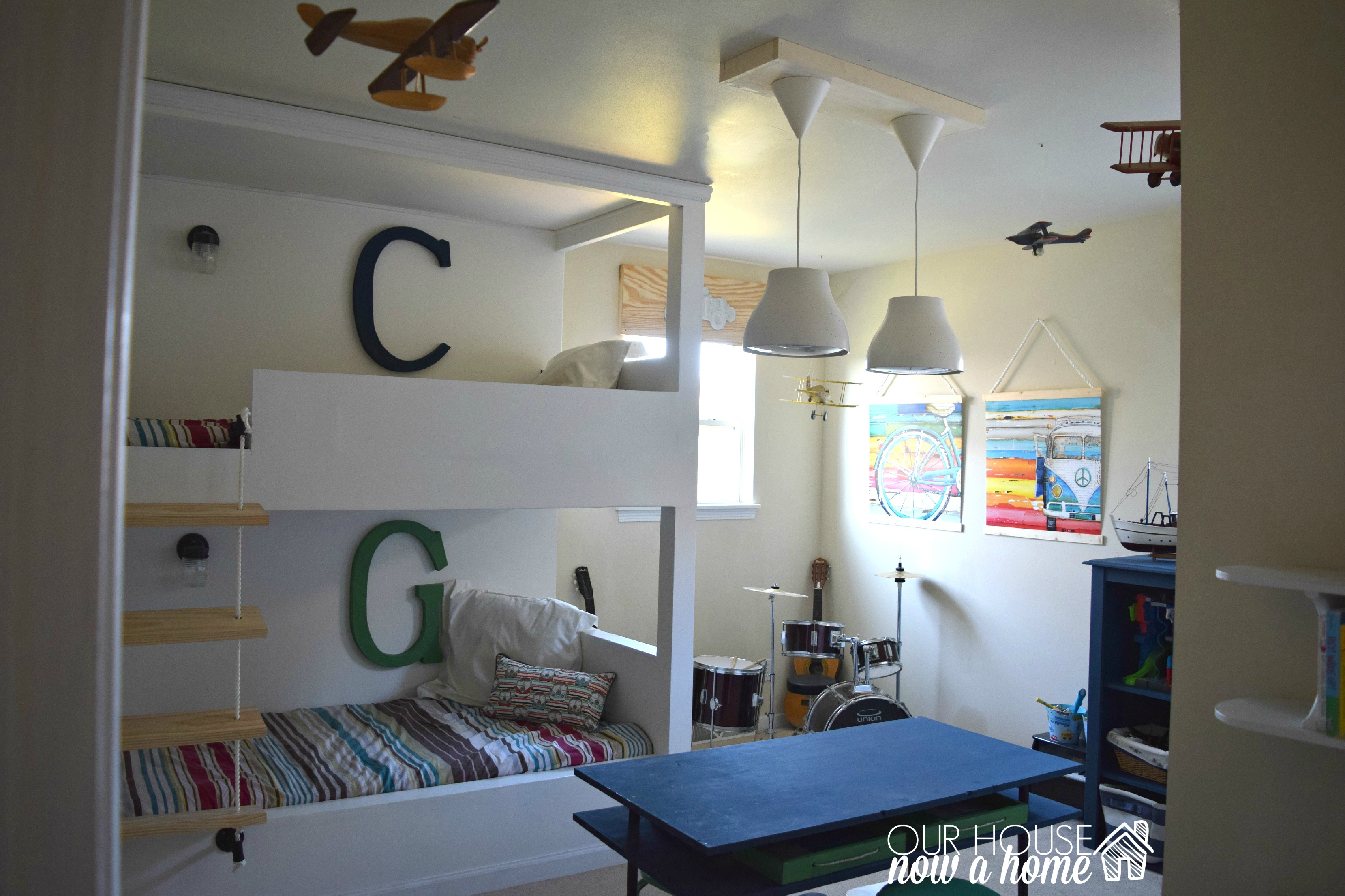 One room challenge, – Week 6, Boy bedroom reveal