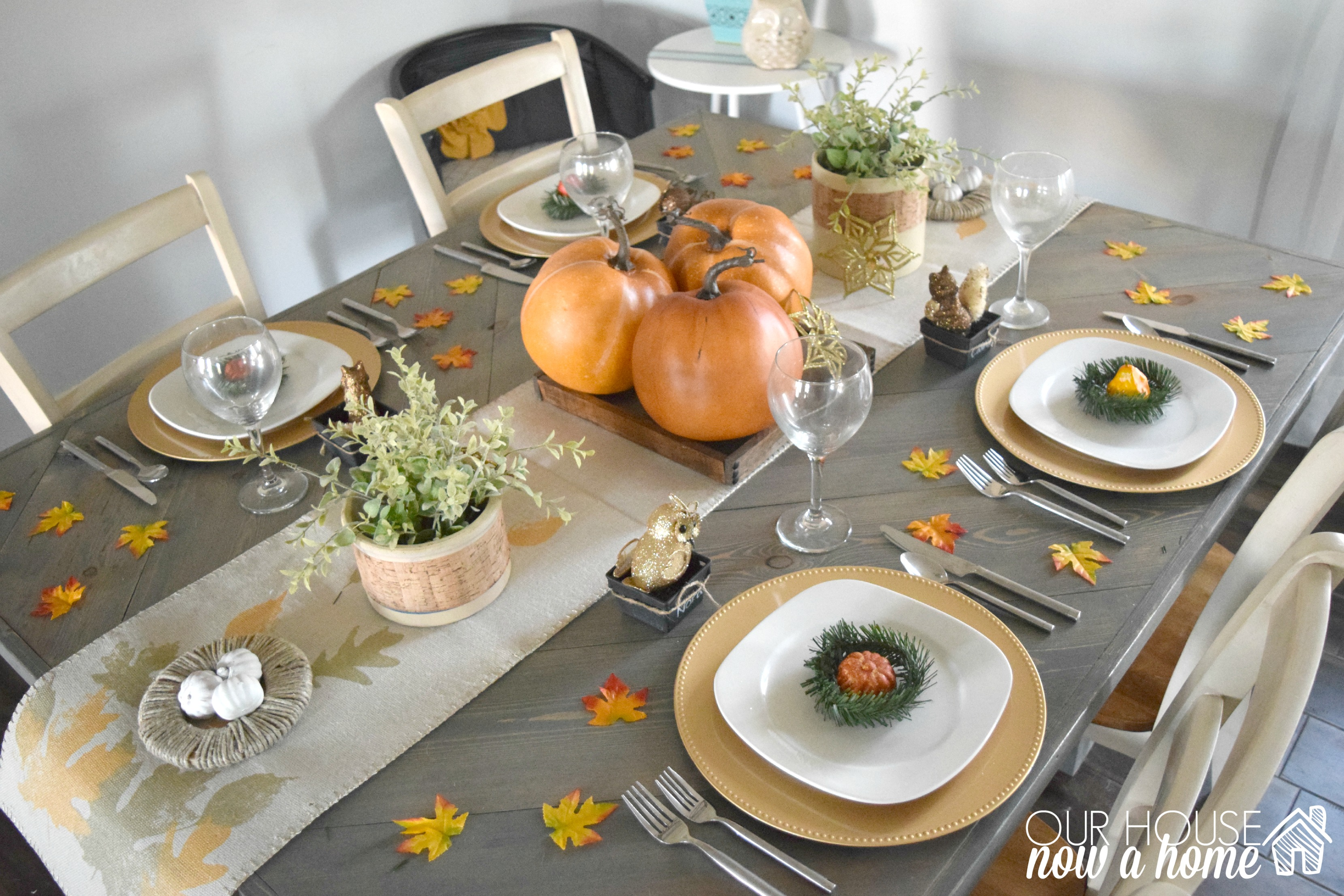 Create & Share November- Fall tablescape
