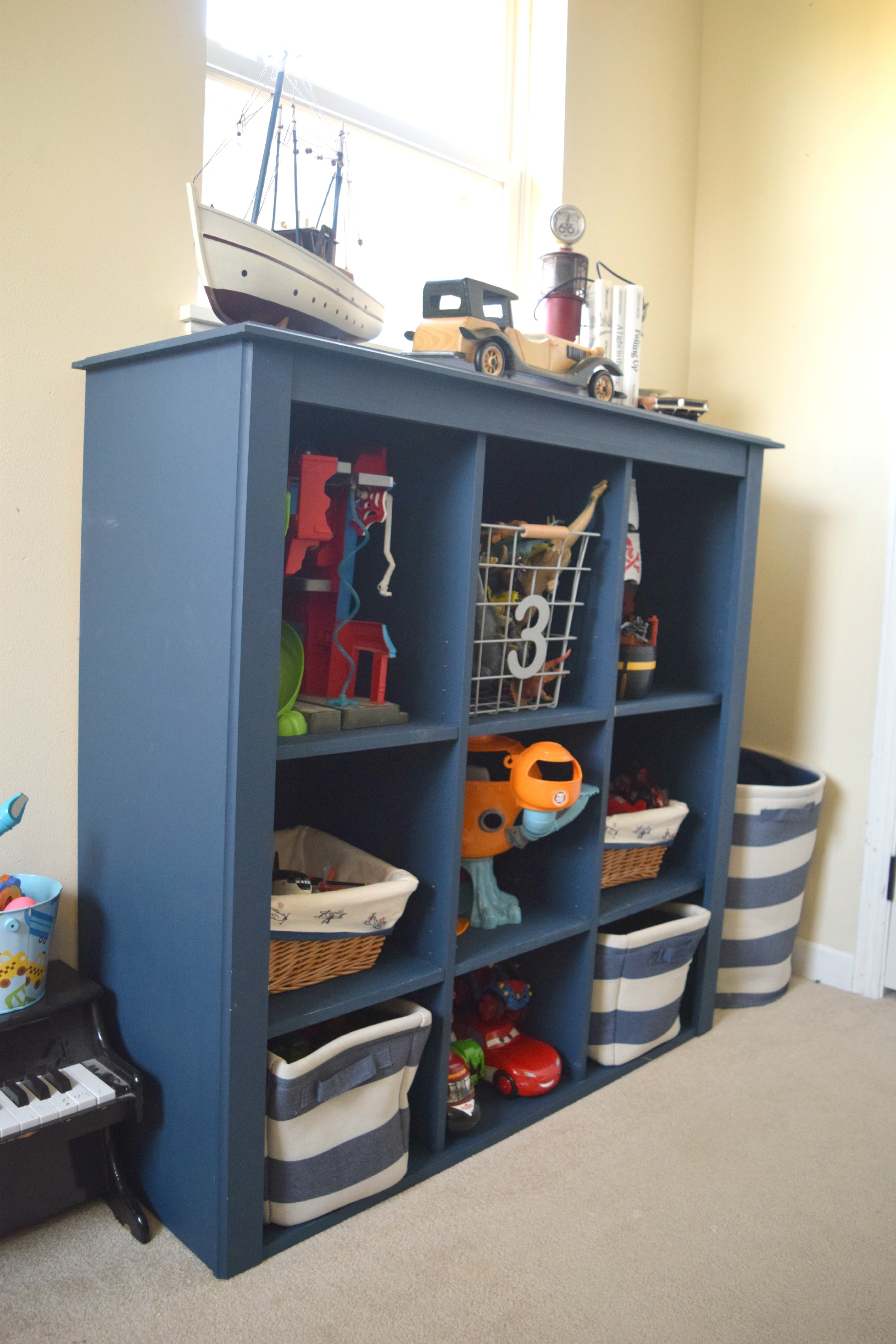 Toy Storage For Boys : Boy bedroom toy storage solutions our house now a home