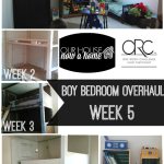 One room challenge week 5- freaking out a little