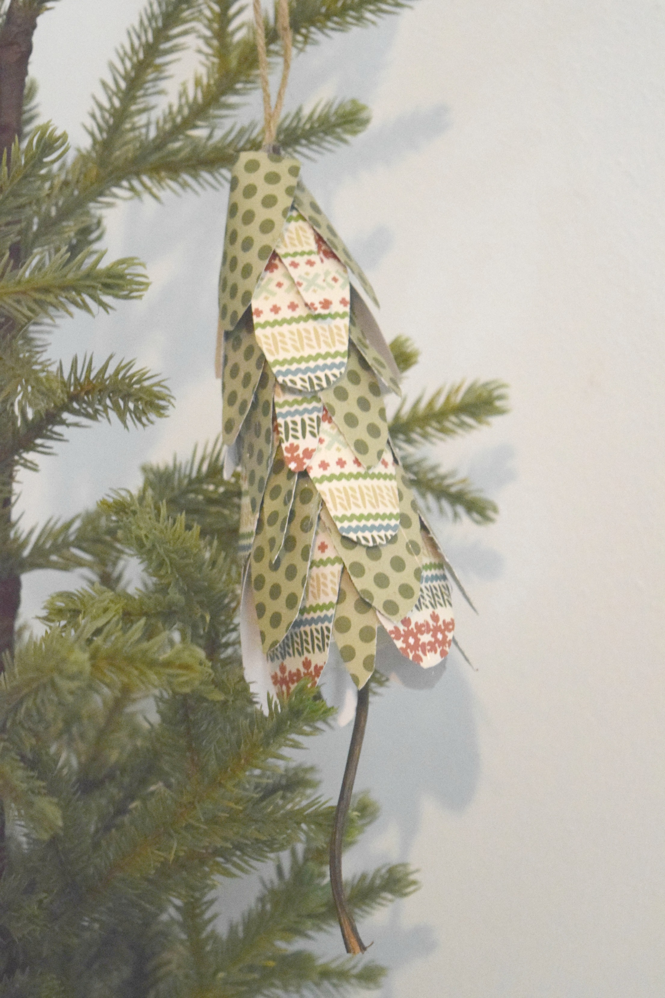 paper tree ornament