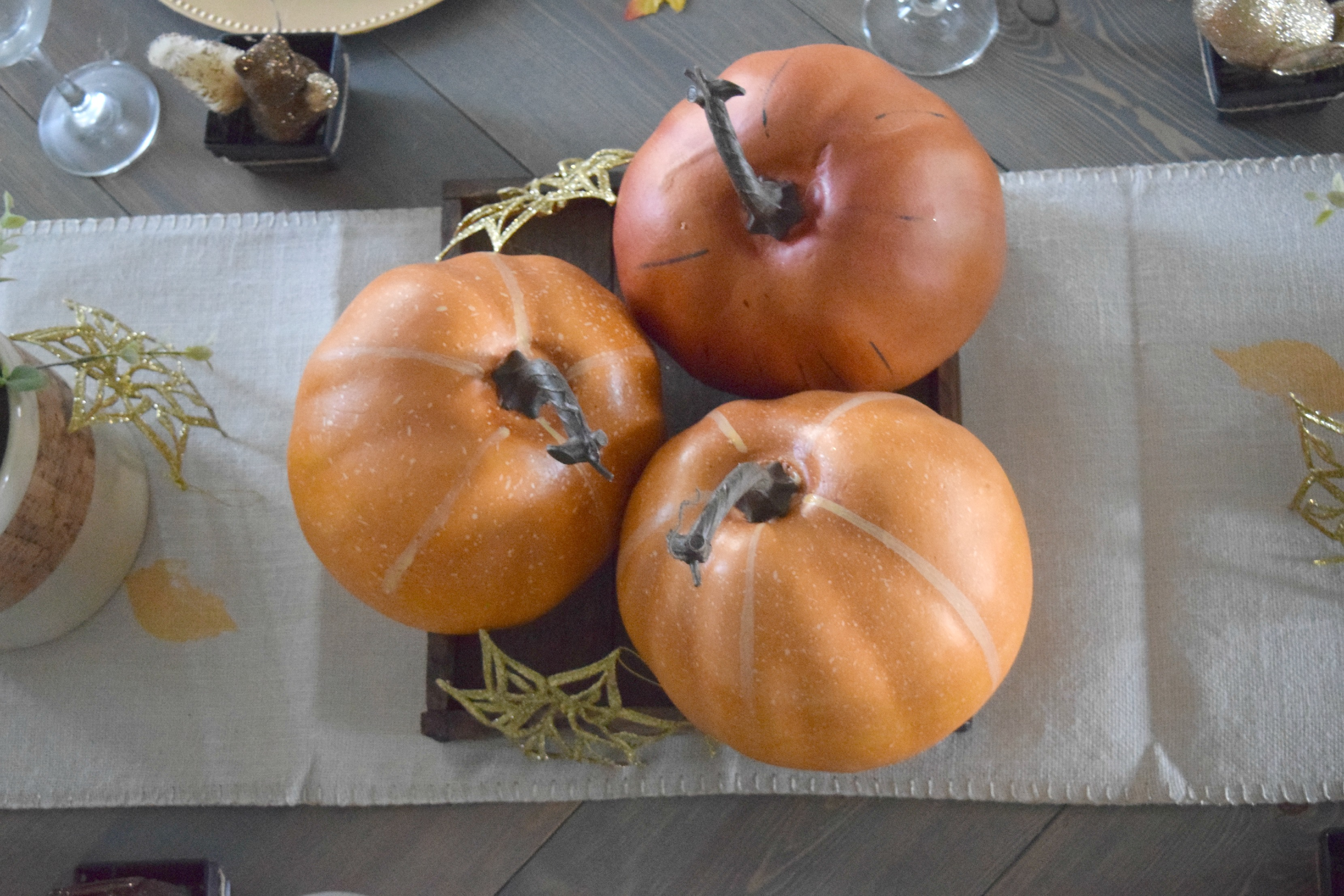 pumpkin table centerpice