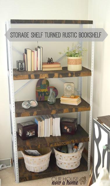 Furniture refresh November – A weathered book shelf
