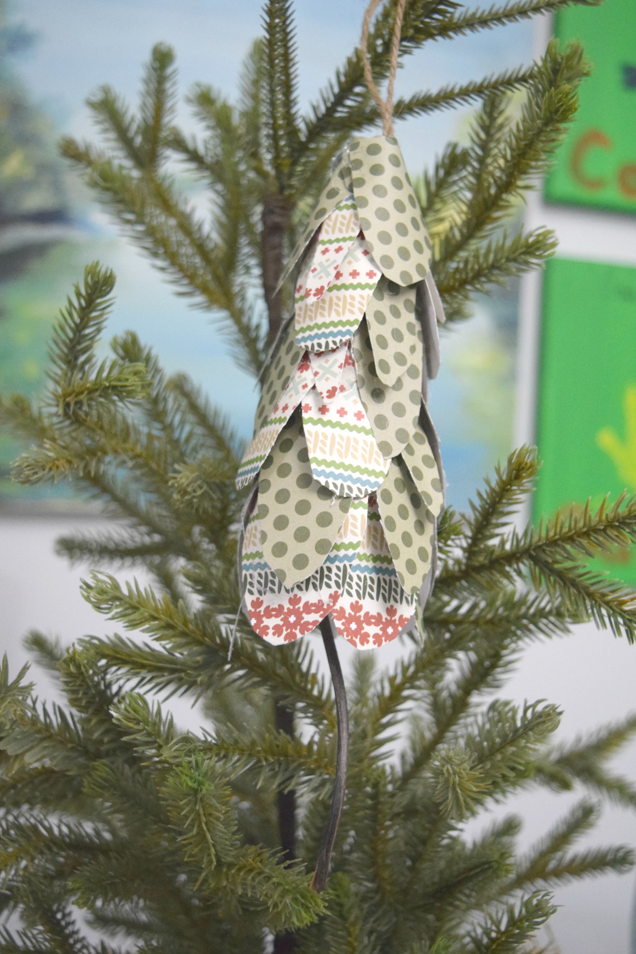 simple christmas tree ornament ideas