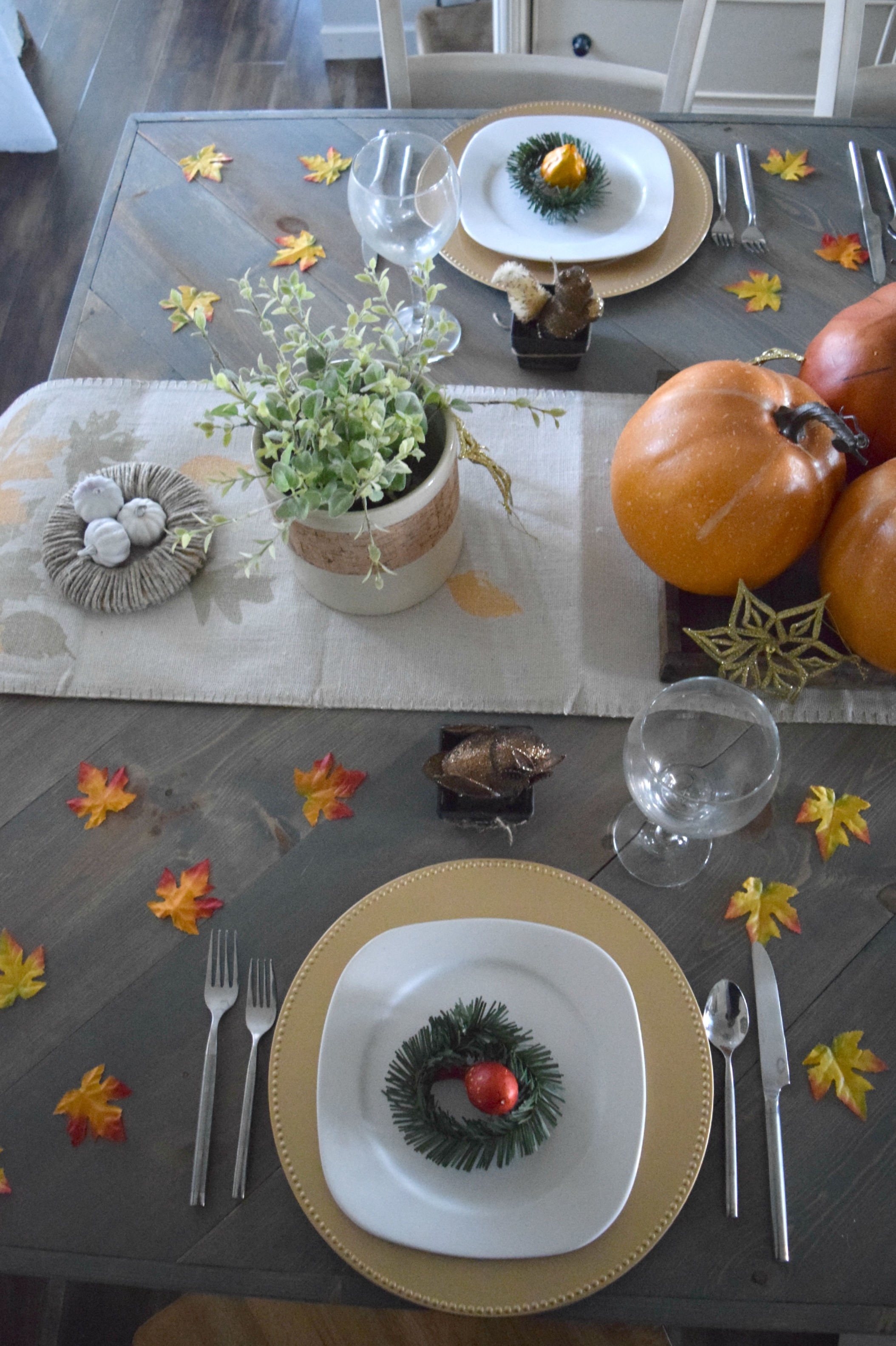 thanksigving table ideas