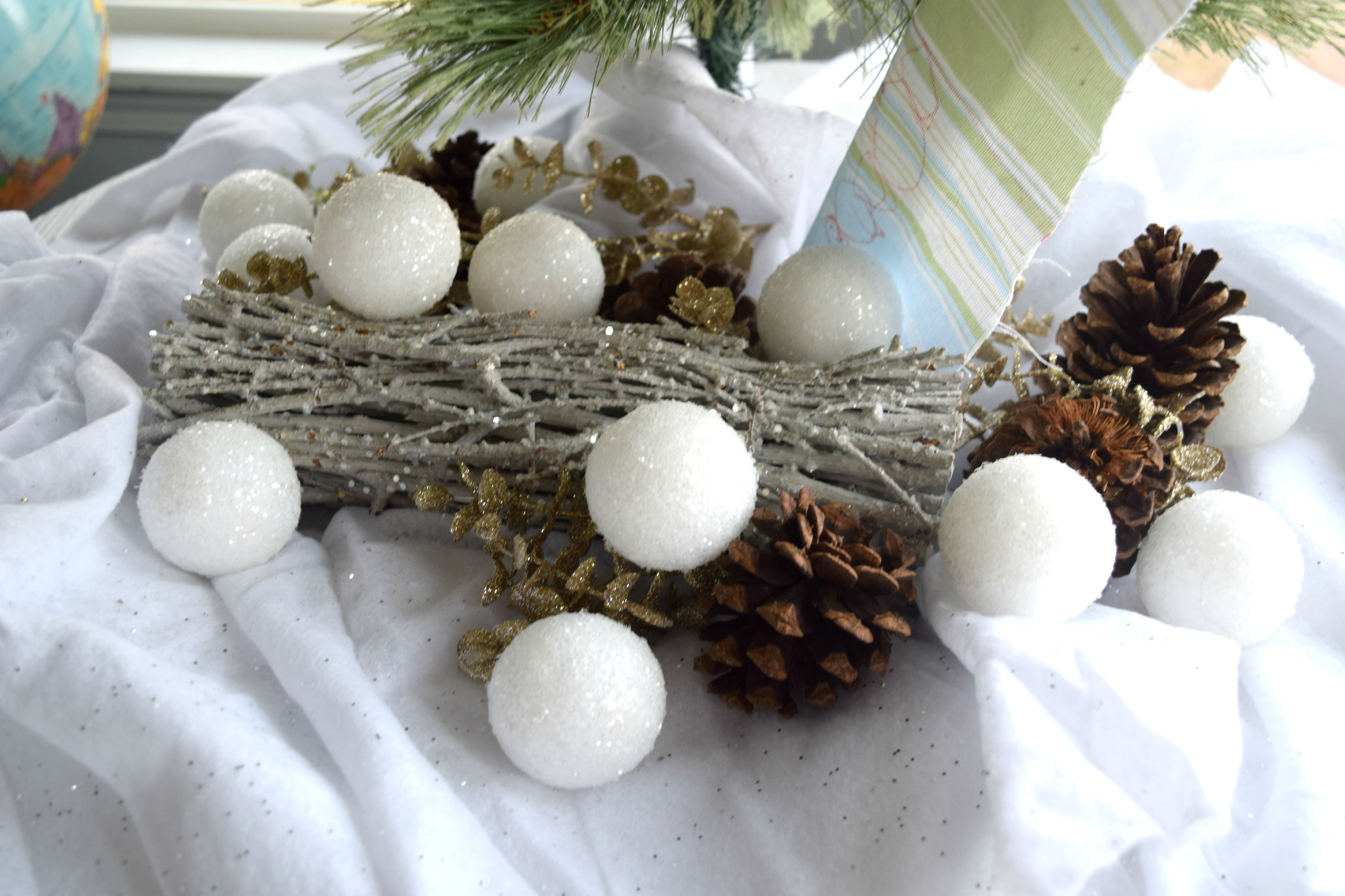 DIY christmas snowballs