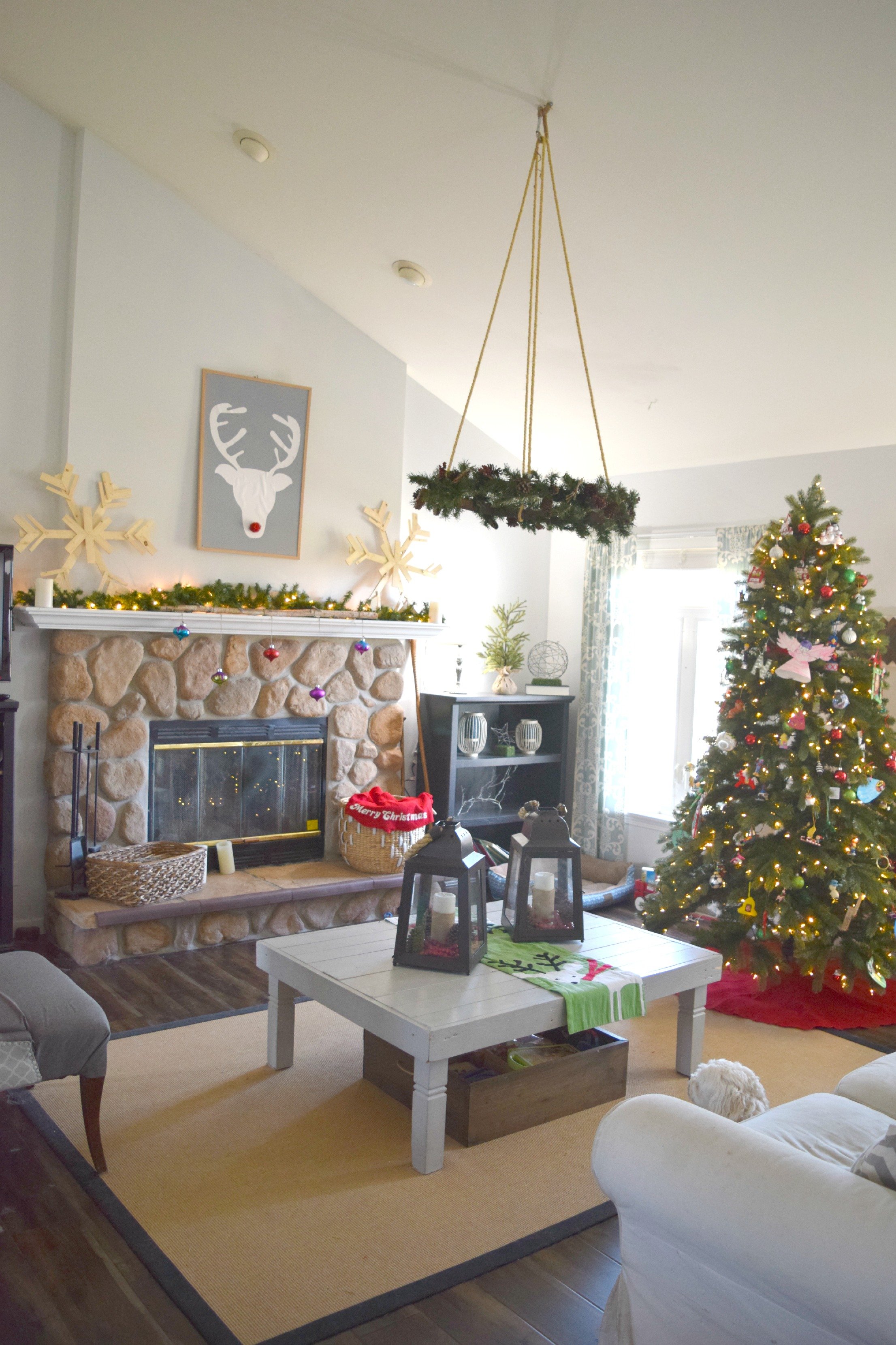 christmas blog living room