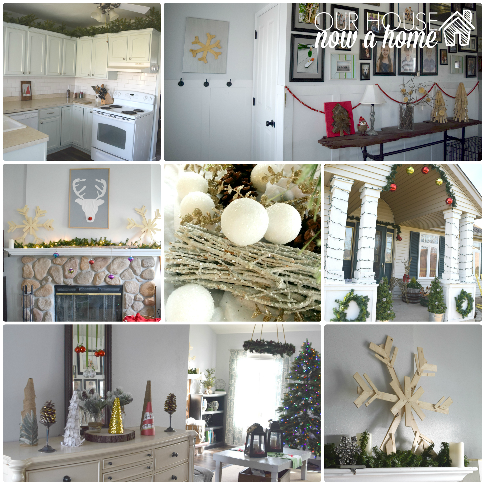christmas collage with WM