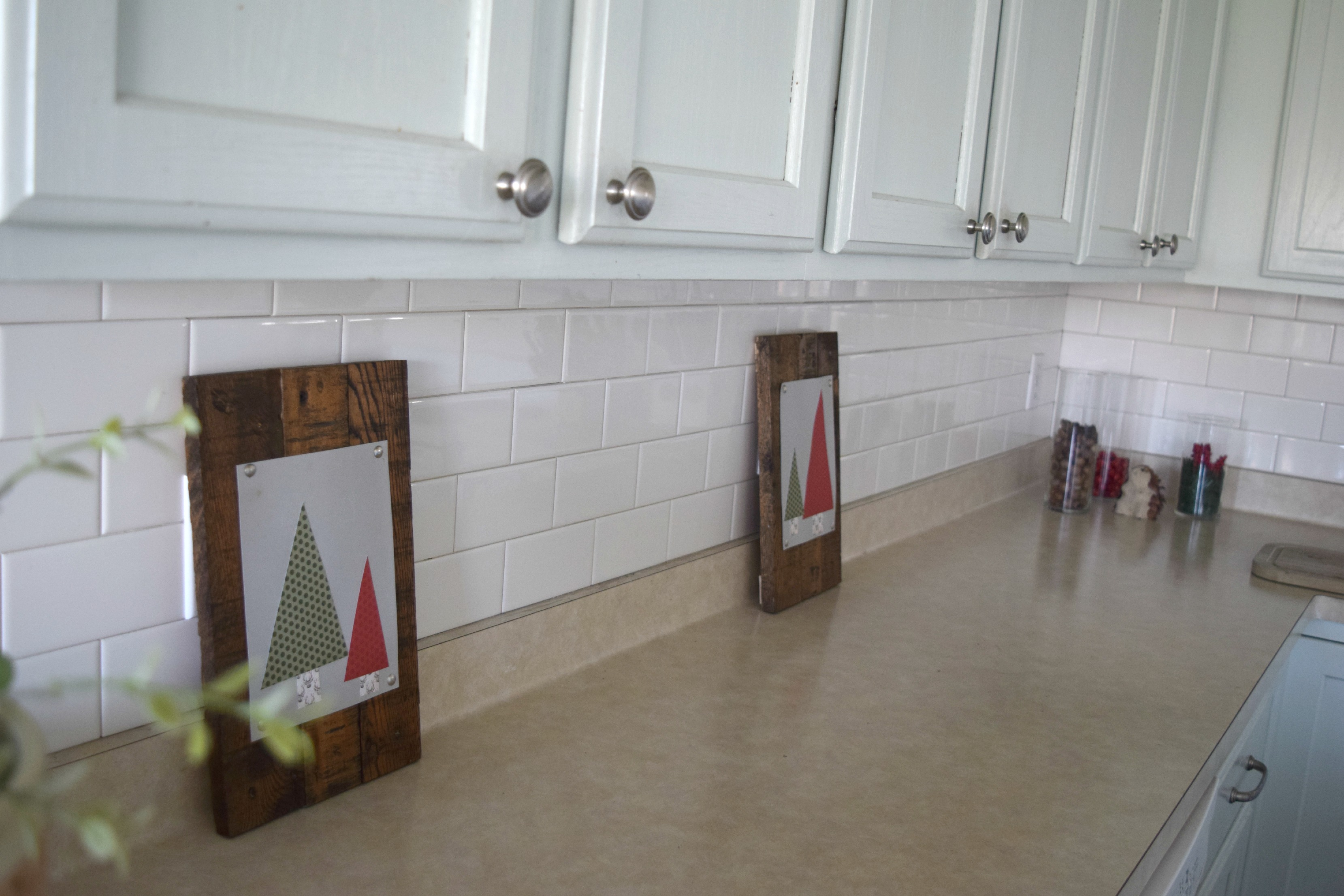 christmas decor for kitchen counters