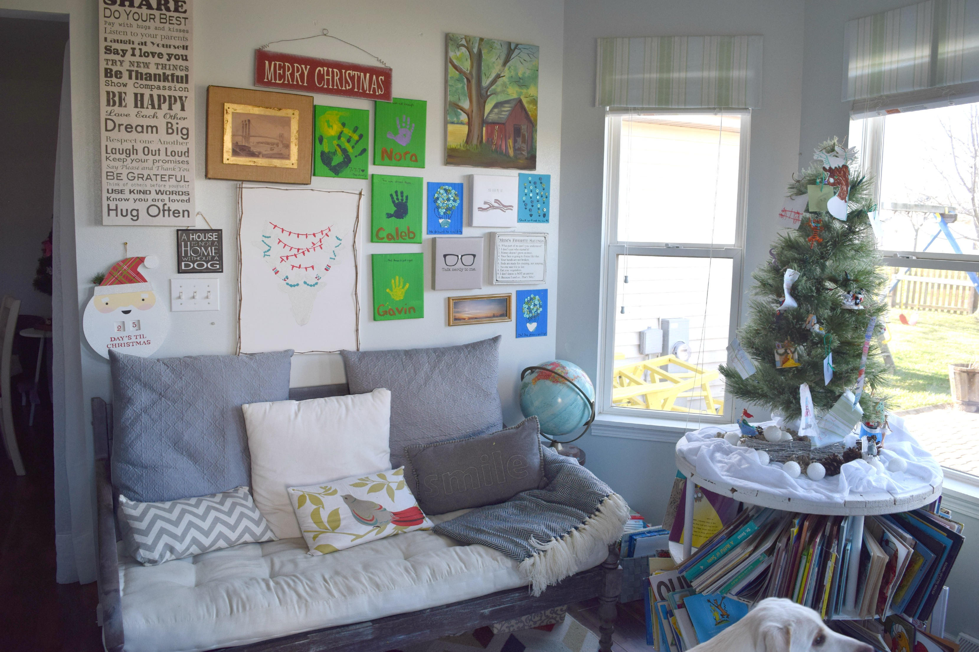 christmas gallery wall ideas 2