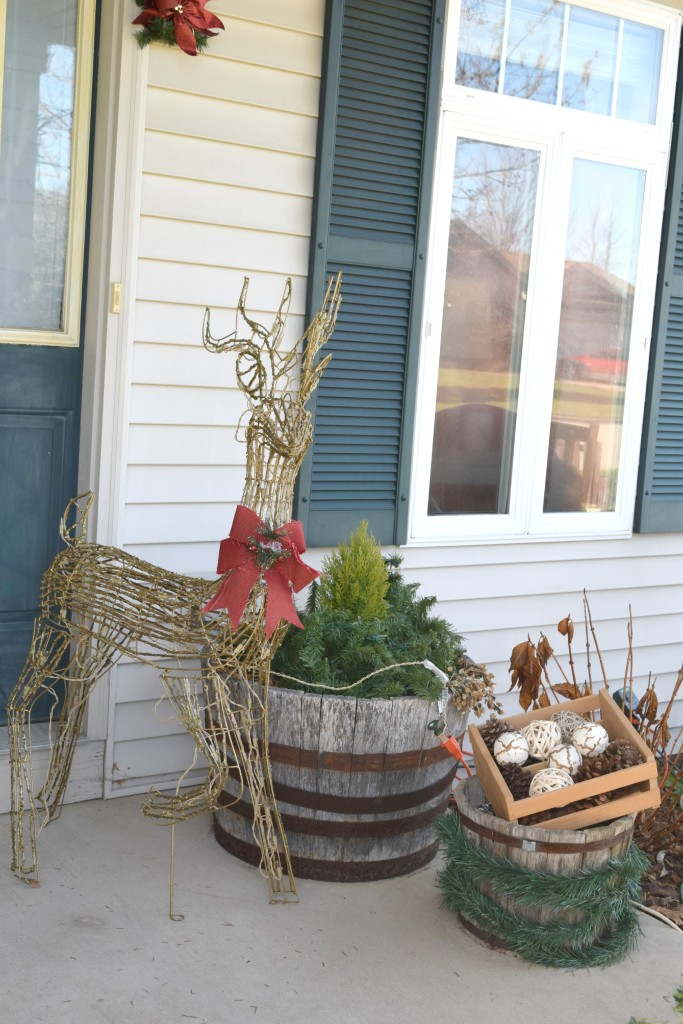 froint porch christmas decor