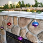 DIY hanging Christmas ornaments