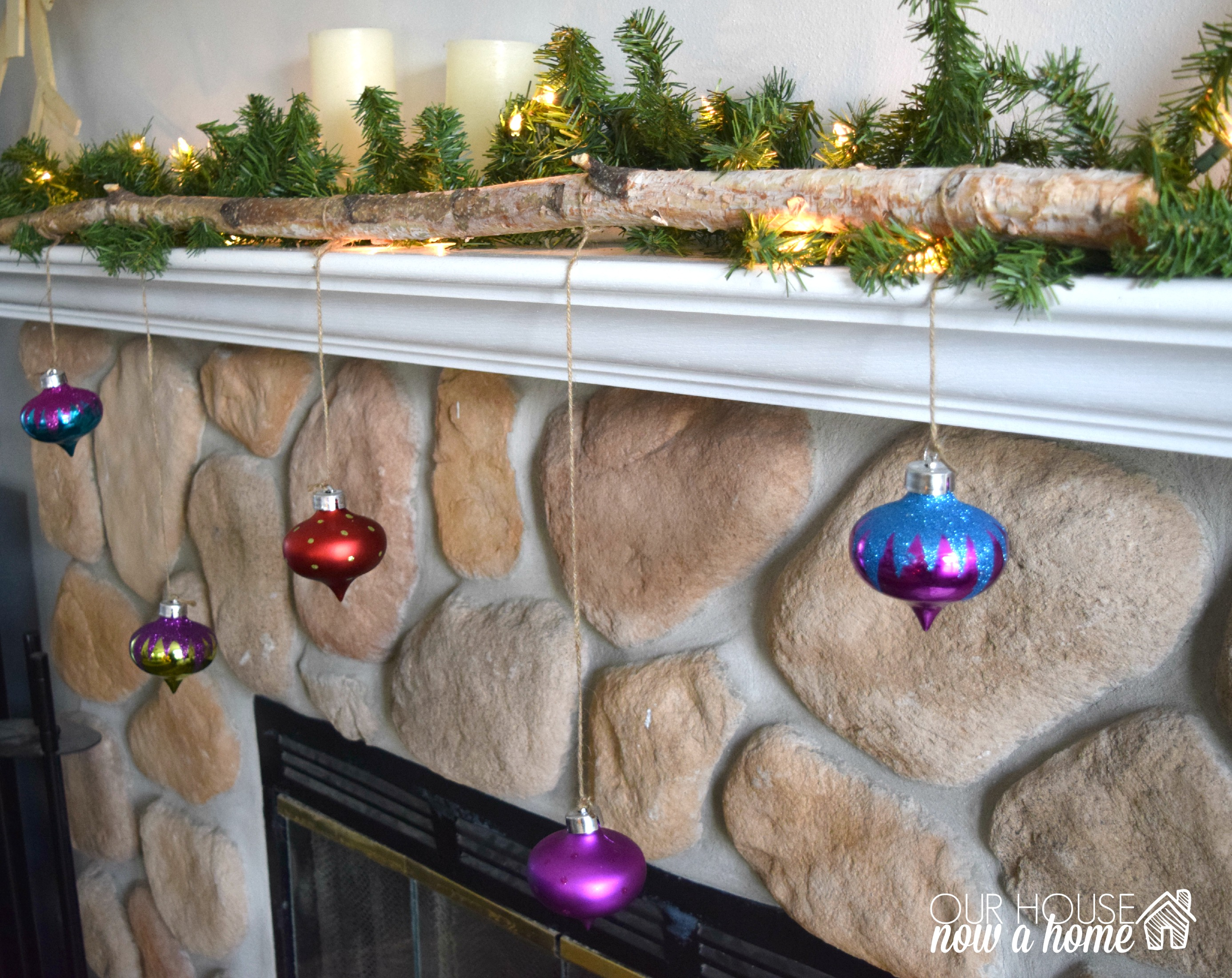 Hanging Christmas Decorations Diy.Diy Hanging Christmas Ornaments Our House Now A Home